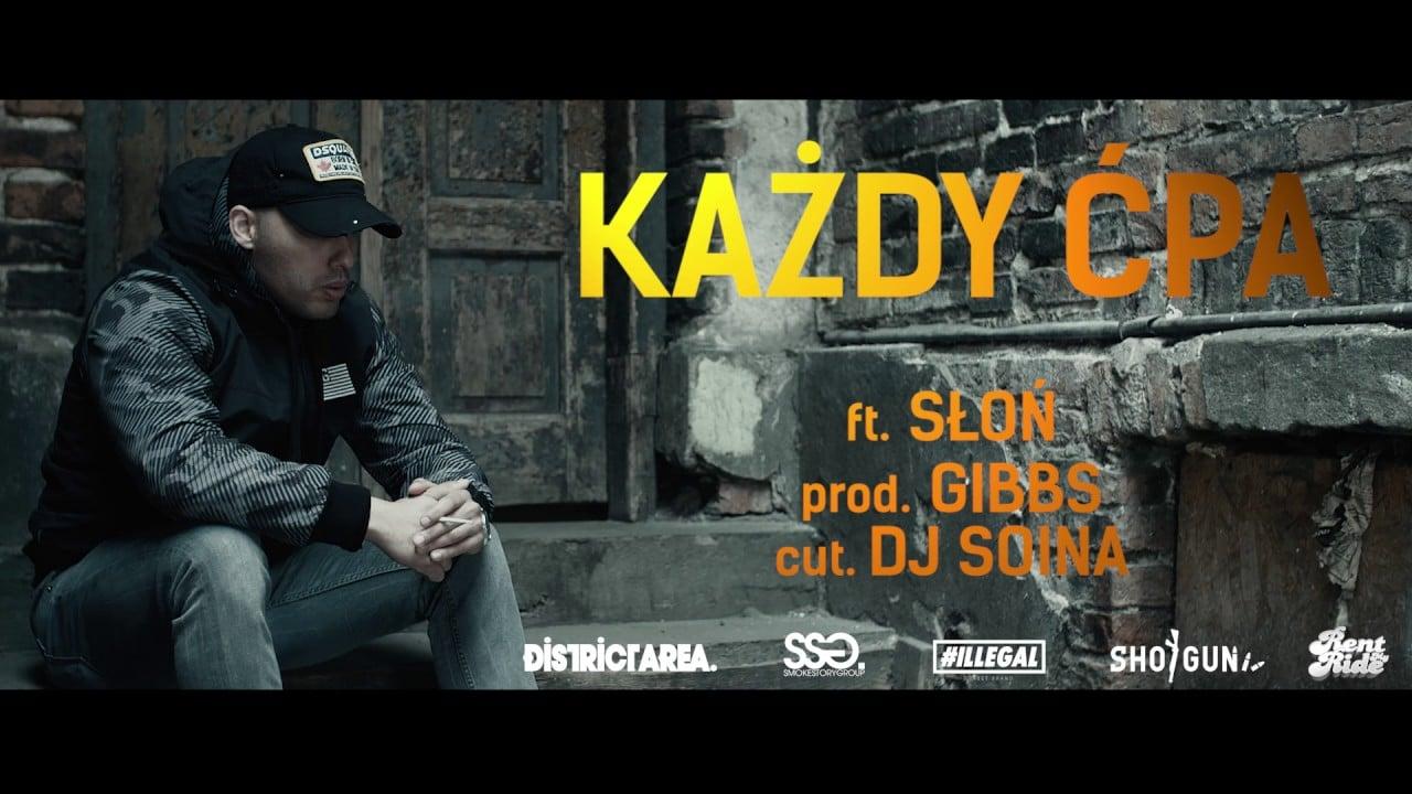 Jongmen – Każdy Ćpa feat. Słoń WSRH, cuty DJ Soina prod.Gibbs