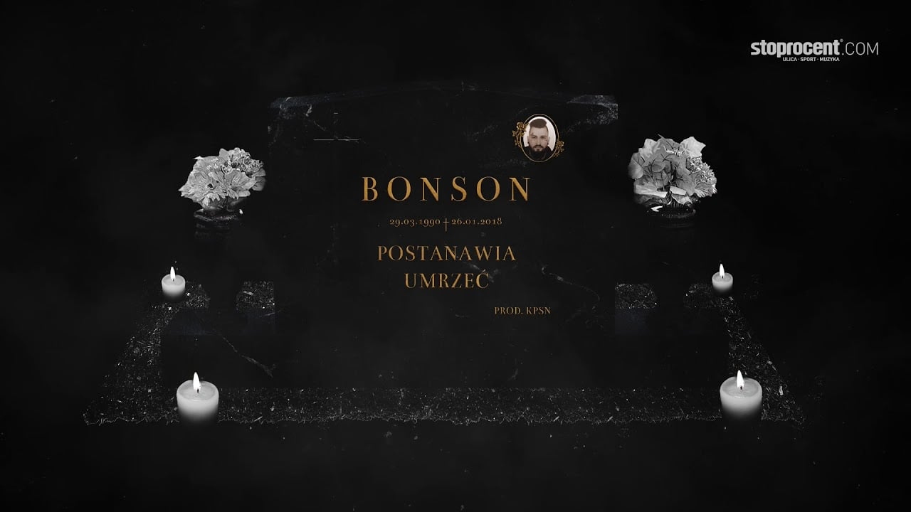 Photo of 07. Bonson – To tylko wstyd (prod. KPSN)