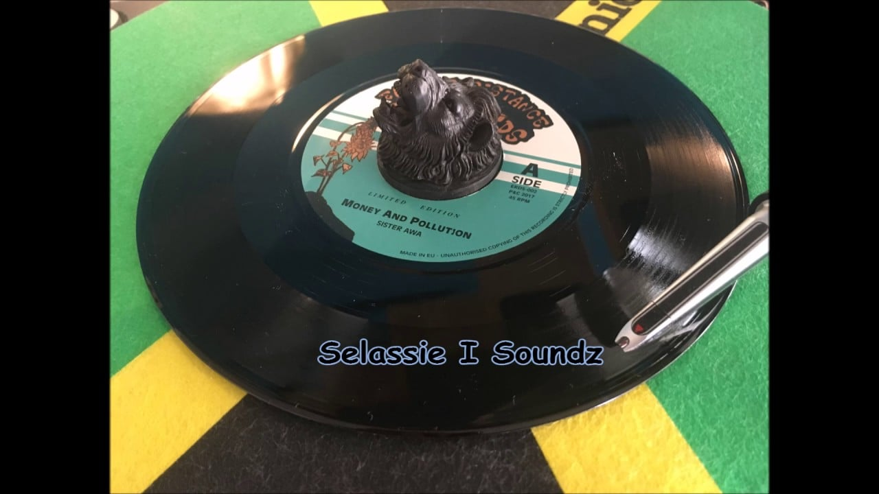 Photo of Sister Awa Meets Dub Tree- Money And Pollution & Pollution Dub (Earth Recistance Records)