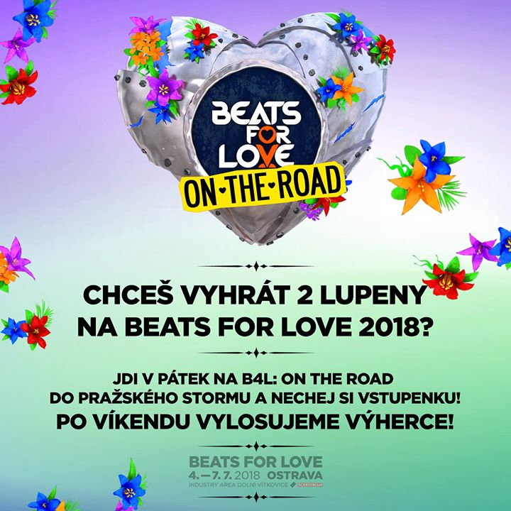 Photo of V pátek bude Beats For Love: On The ROAD…