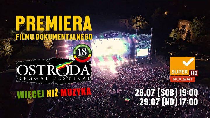 """Photo of W NAJBLIŻSZY WEEKEND PREMIERA FILMU """"WIĘCEJ NIŻ MUZYKA – OSTRÓDA REGGAE FESTIVAL 2018"""" [trailer]"""