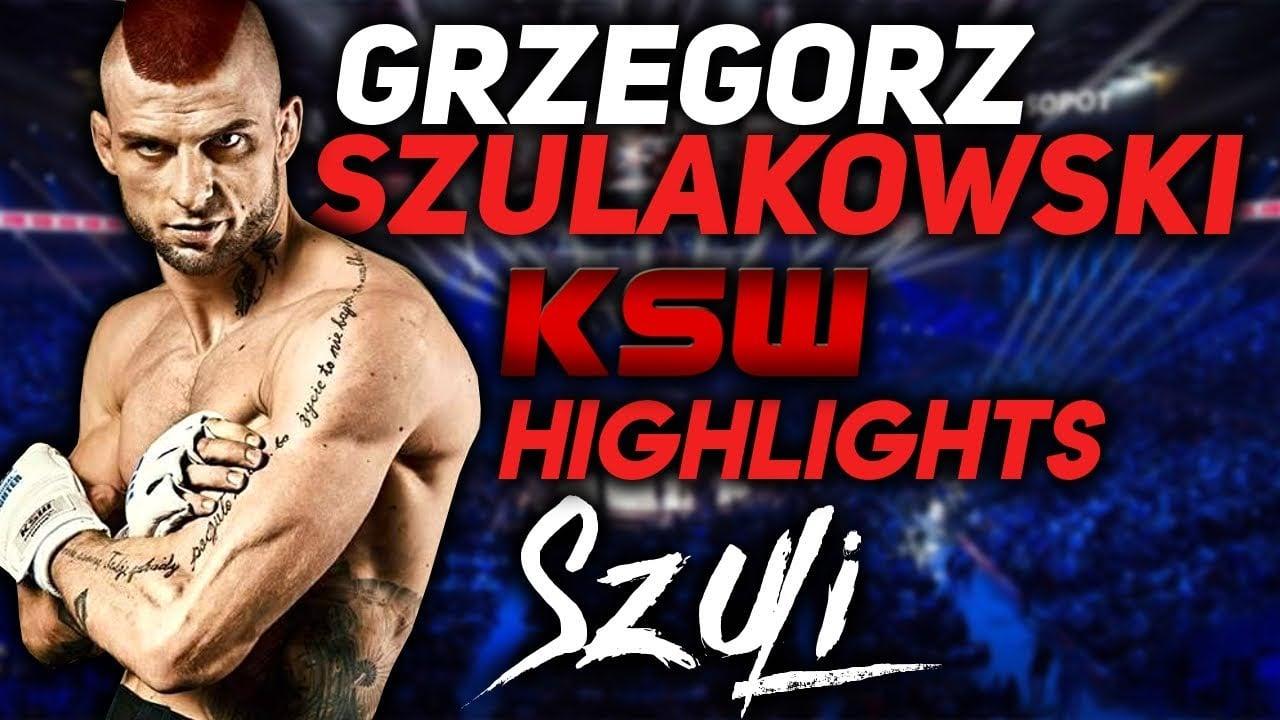 Photo of GRZEGORZ SZULI SZULAKOWSKI – KSW HIGHLIGHTS 2018