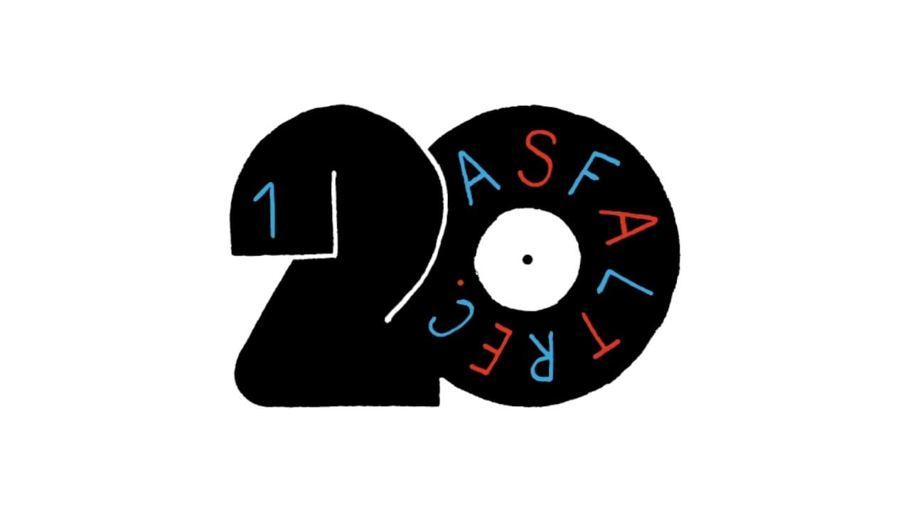 Photo of Oficjalne logo 20-LECIE ASFALT RECORDS: 1998 – 2018 #asfalt20lat