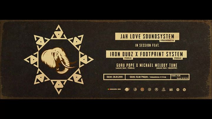 Photo of Jah Love Soundsystem in session ft. Iron…
