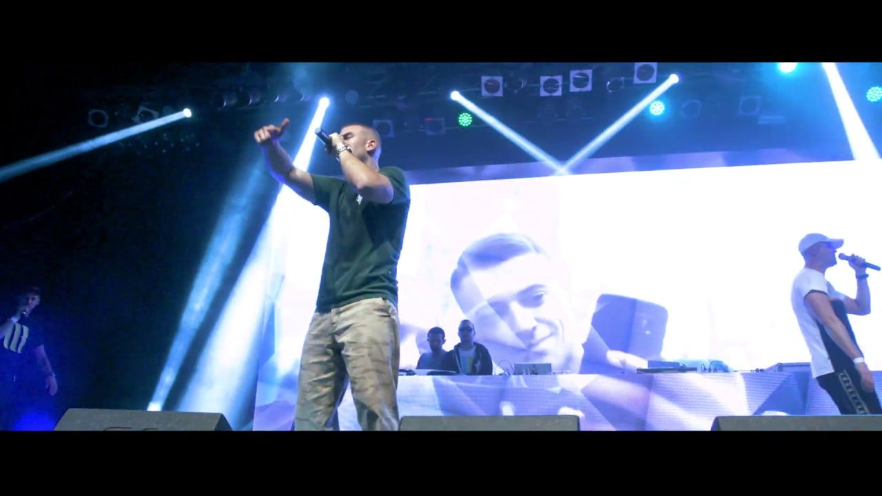"Photo of Małach / Rufuz feat. Hinol – ""Nie dbam""  Live   X – lecie SSG. 2018"