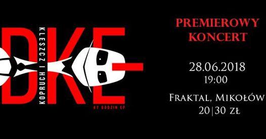 Photo of Koncert NDKE – Kleszcz i Kopruch   Fraktal, Mikołów