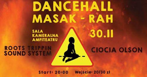 Photo of Dancehall Masak-Rah // 30.11.2018 // Sala Kameralna Amfiteatru