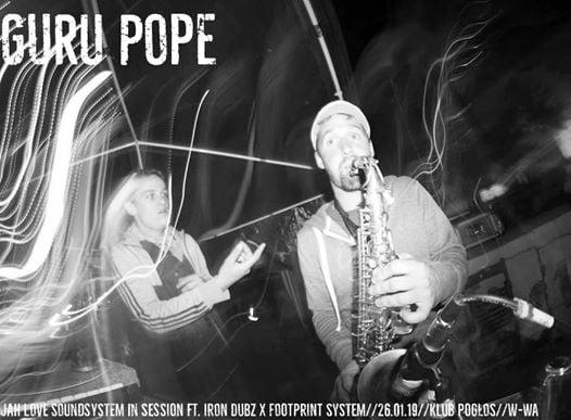 Photo of Guess who's back   Guru Pope wraz …