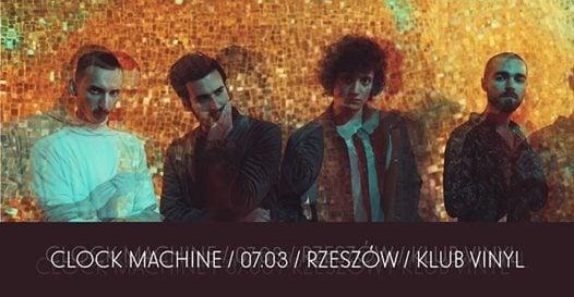 Photo of Clock Machine / 07.03 / Rzeszów / Klub Vinyl