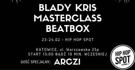 Photo of Blady Kris Masterclass w Hip Hop Spot Katowice