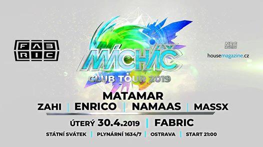 Photo of Mácháč club tour with Matamar @Fabric 30-4-2019