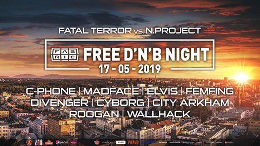 Photo of Free DNB Night @Fabric 17-5-2019