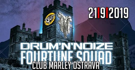 "Photo of Drum""N""Noize w/ Fourtune Squad [SK] 21.09. Marley Club Ostrava"
