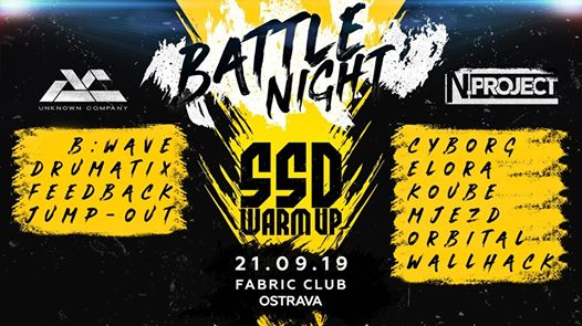 Photo of Battle Night // Unknown Company vs. N.Project (SSD Warmup)