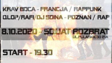 Photo of Koncert // Krav Boca + Qlop/Rafi/DJ Soina