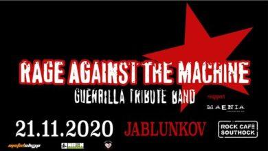 Photo of Rage Against The Machine Guerrilla tribute band v Jablunkově