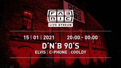 Photo of D'n'B' 90's @Fabric Live Stream