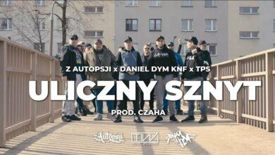 Photo of Z AUTOPSJI – Uliczny sznyt feat. Daniel DYM KNF , TPS PROD. Czaha  Skrecze/Cuty DJ. Juri