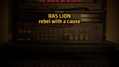 Photo of Ras Lion – rebel with a cause… strictly vinyl selection – mixtape