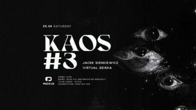 Photo of Kaos #3 – Jacek Sienkiewicz, Virtual Gei…